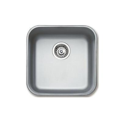 Кухонная мойка Teka Undermount BE 400.400 Plus 10125152, из нержавеющей стали