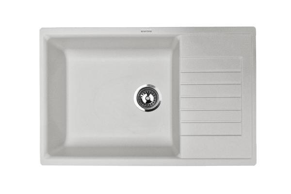 Кухонная мойка ZorG Dello 78 серый жемчуг