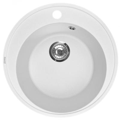 Кухонная мойка ZorG Fresco 45 белый камень