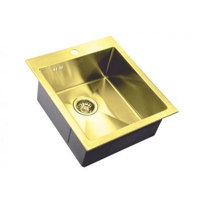 Кухонная мойка ZorG INOX -PVD SZR 4551 BRONZE