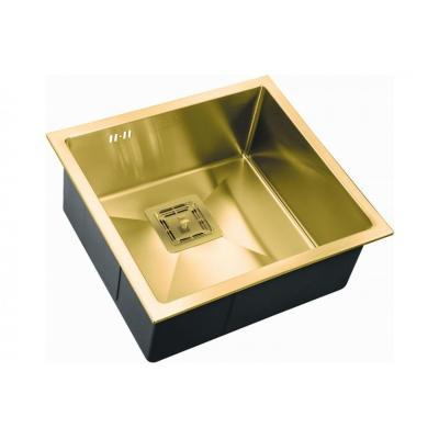 Кухонная мойка ZorG INOX -PVD SZR 4844 BRONZE