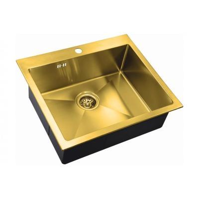 Кухонная мойка ZorG INOX -PVD SZR 5951 BRONZE