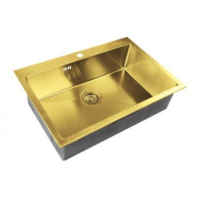 Кухонная мойка ZorG INOX -PVD SZR 7551 BRONZE