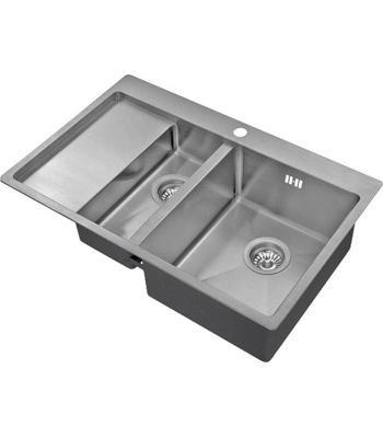 Кухонная мойка ZorG INOX R 5178-2 R 3мм