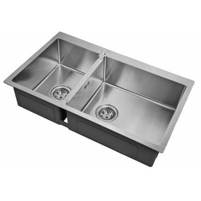 Кухонная мойка ZorG INOX R 78-2-51 R 3мм