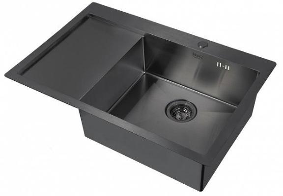 Кухонная мойка ZorG PVD 7851 R GRAFIT 3мм