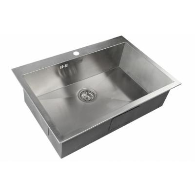 Кухонная мойка ZorG Steel Hammer SH R 7551 DIVON