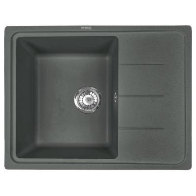 Кухонная мойка ZorG Torino 62 черный опал