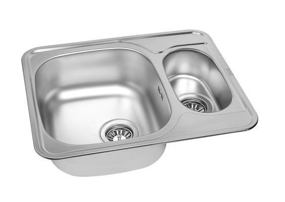 Кухонная мойка ZorG ZCL 5949-2 микродекор