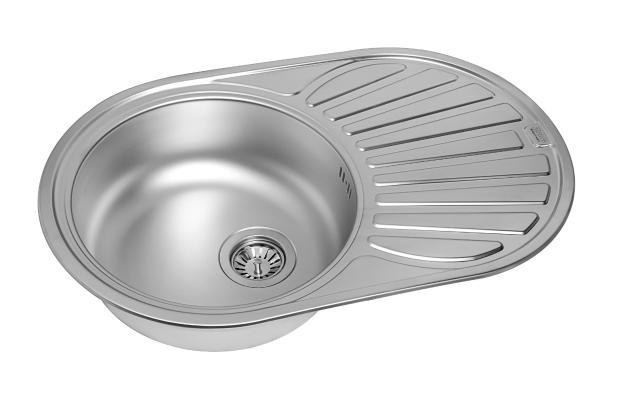 Кухонная мойка ZorG ZCL 7748 OV микродекор