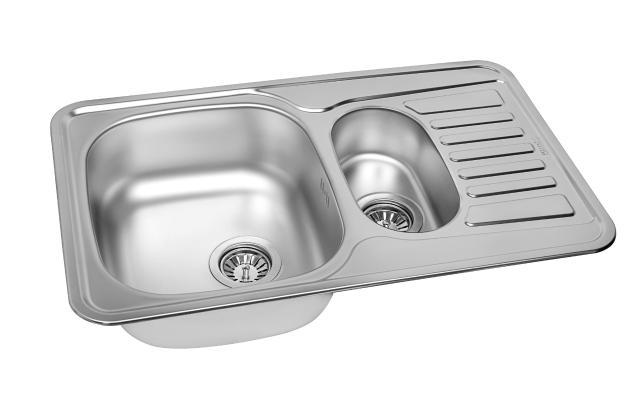Кухонная мойка ZorG ZCL 7848-2 микродекор