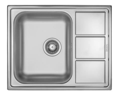 Кухонная мойка ZorG ZLL 6150 микродекор
