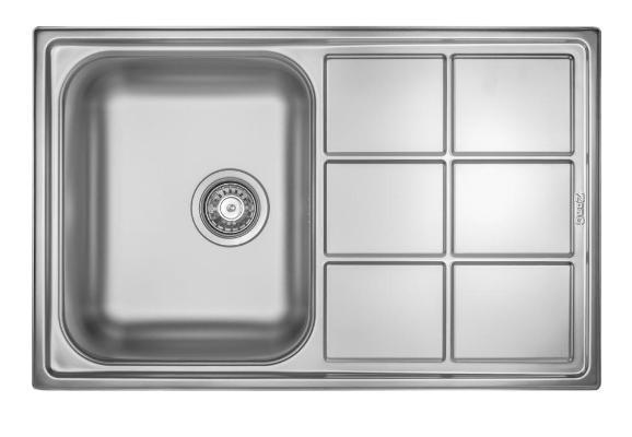 Кухонная мойка ZorG ZLL 7850 микродекор