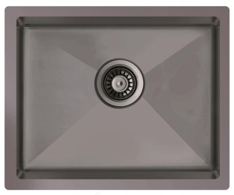 Кухонная мойка ZorG ZRN 5545 Titanium