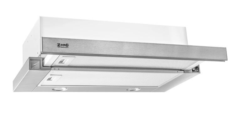 Кухонная вытяжка ZorG Technology Kleo (TL) 700 50 нержавейка