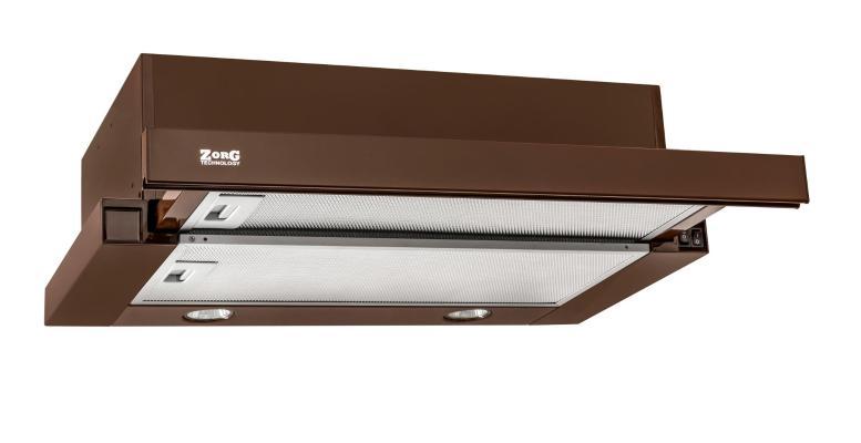 Кухонная вытяжка ZorG Technology Kleo (TL) 700 60 коричневая
