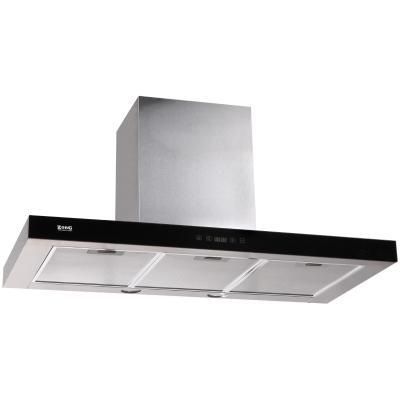 Кухонная вытяжка ZorG Technology Stels 1000 90 S нержавейка + стекло черное