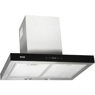 Кухонная вытяжка ZorG Technology Stels 750 60 S нержавейка + стекло черное