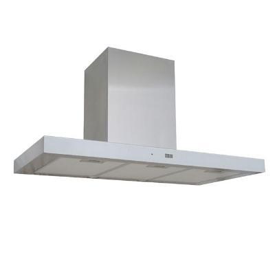 Кухонная вытяжка ZorG Technology Stels 750 90 S нержавейка + стекло белое