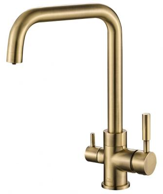 Смеситель для кухни ZorG Steel Hammer SH 715 бронза