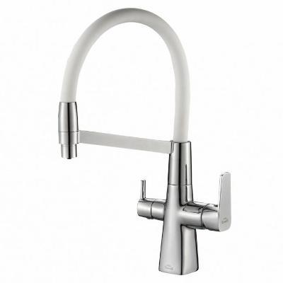 Смеситель для кухни ZorG Steel Hammer SH 818-8 хром