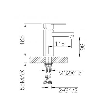 Ganzer Bolder GZ 06011 (хром)