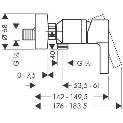 Hansgrohe Metris S 31660000