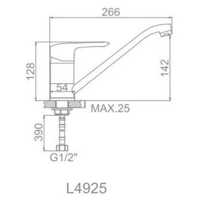 Ledeme H25A L4925A