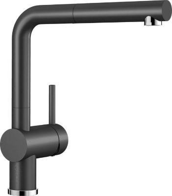 Смеситель Blanco Linus-S 516708 (черный)