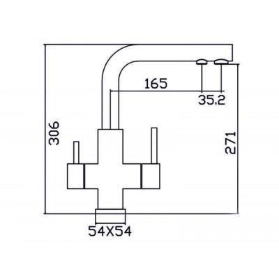 ZorG INOX SZR 1126 DAMAS