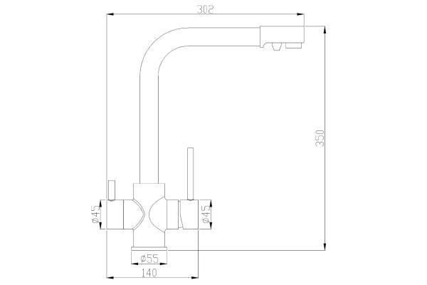 ZorG Steel Hammer SH 552 чёрный + хром