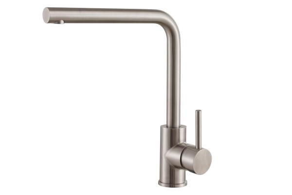 Смеситель ZorG Steel Hammer SH 7014 D нержавейка