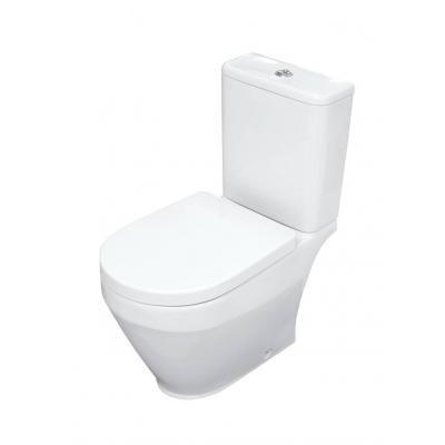 Унитаз Керамин Бари R МЛ Дуал белый с1