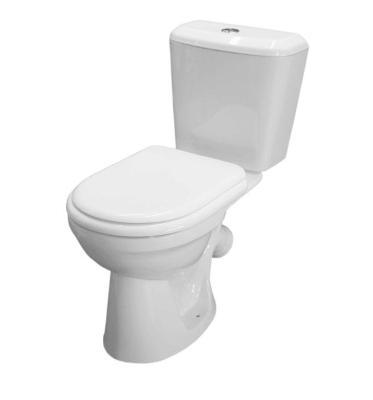 Унитаз Керамин СИТИ-N н/п белый с мягким сиденьем СИТИ МС, арматурой и креплением