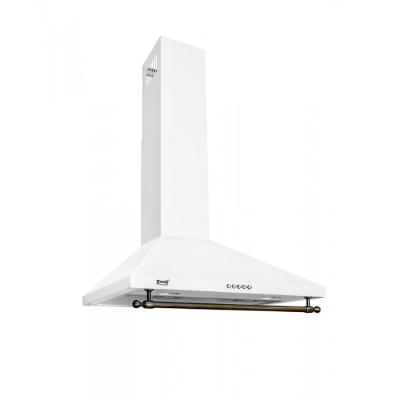 Кухонная вытяжка ZorG Technology Allegro B 1000 60 белая+релинг бронза