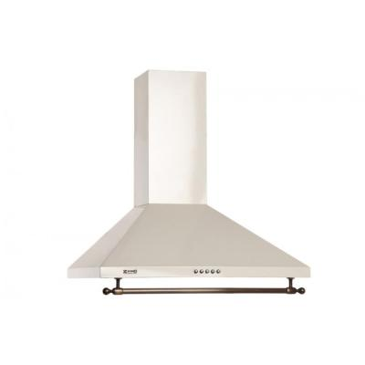 Кухонная вытяжка ZorG Technology Allegro B 750 60 бежевая+релинг бронза