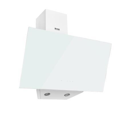 Кухонная вытяжка ZorG Technology ARSTAA 60 S (сенсор) белое стекло