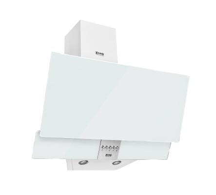 Кухонная вытяжка ZorG Technology ARSTAA 60C М белое стекло + нержавеющая сталь