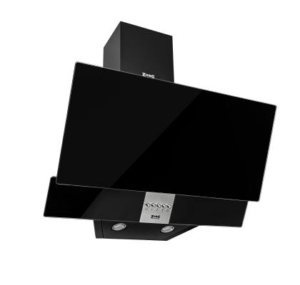 Кухонная вытяжка ZorG Technology ARSTAA 60C М черное стекло + нержавеющая сталь